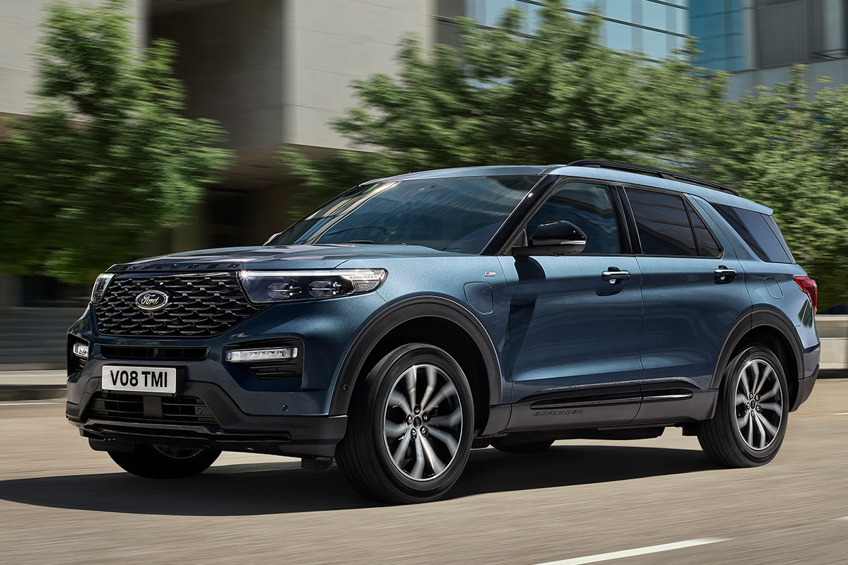 2021 The Ford Explorer Concept